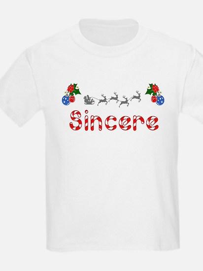 Sincere, Christmas T-Shirt