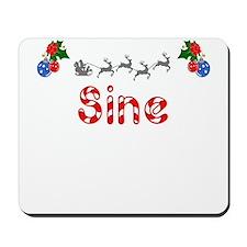 Sine, Christmas Mousepad