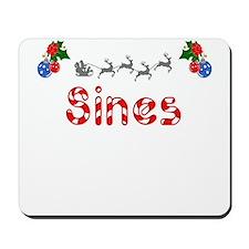 Sines, Christmas Mousepad