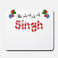 Singh, Christmas Mousepad