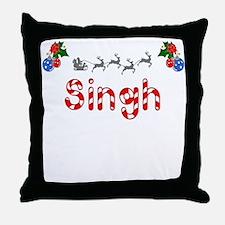 Singh, Christmas Throw Pillow
