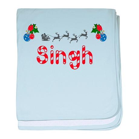 Singh, Christmas baby blanket
