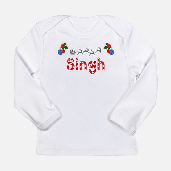 Singh, Christmas Long Sleeve Infant T-Shirt