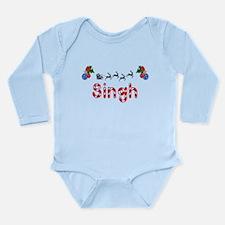 Singh, Christmas Long Sleeve Infant Bodysuit