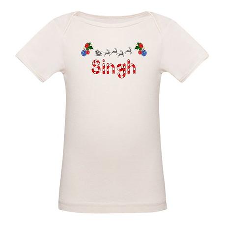 Singh, Christmas Organic Baby T-Shirt