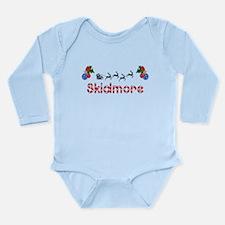 Skidmore, Christmas Long Sleeve Infant Bodysuit