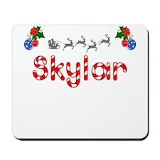 Skylar, Christmas Mousepad