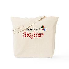 Skylar, Christmas Tote Bag