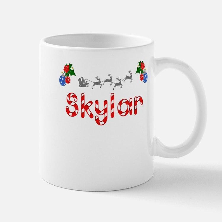 Skylar, Christmas Mug