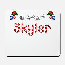 Skyler, Christmas Mousepad