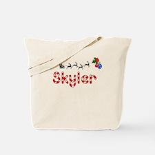 Skyler, Christmas Tote Bag