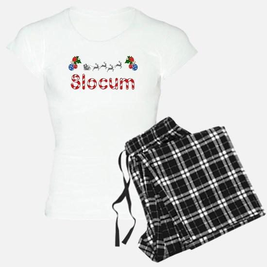 Slocum, Christmas Pajamas