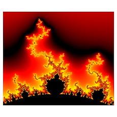 Mandelbrot fractal Poster