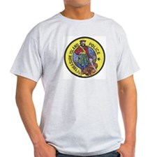 Treasure Island Police Ash Grey T-Shirt