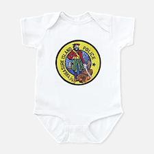 Treasure Island Police Infant Bodysuit