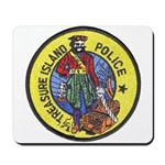 Treasure Island Police Mousepad