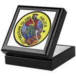 Treasure Island Police Keepsake Box