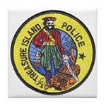 Treasure Island Police Tile Coaster