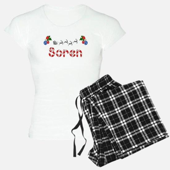 Soren, Christmas Pajamas