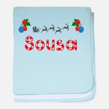 Sousa, Christmas baby blanket