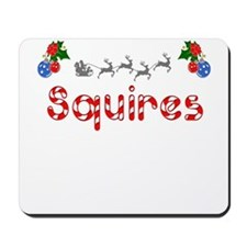 Squires, Christmas Mousepad
