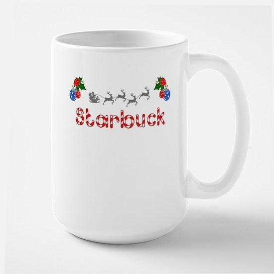 Starbuck, Christmas Large Mug