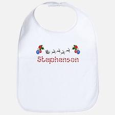 Stephenson, Christmas Bib