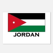 Jordan Flag Merchandise Postcards (Package of 8)
