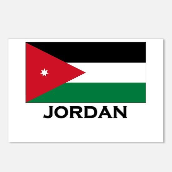 Jordan Flag Merchandise Postcards (Package of 8)