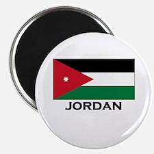 Jordan Flag Merchandise Magnet