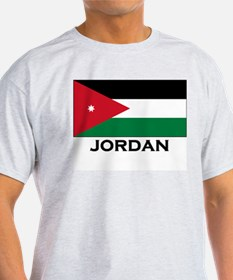 Jordan Flag Merchandise Ash Grey T-Shirt