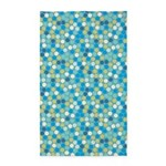 Geo Dots Mosaic Blue 3'x5' Area Rug