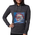 Vote BOB BIG Button 203_H_F co Womens Hooded Shirt