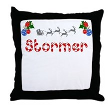 Stormer, Christmas Throw Pillow