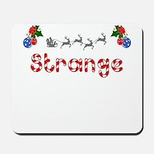 Strange, Christmas Mousepad