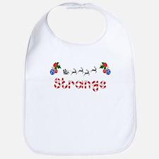 Strange, Christmas Bib