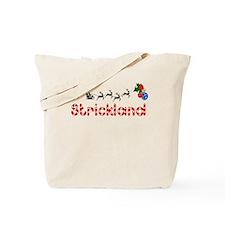 Strickland, Christmas Tote Bag