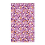 Geo Dots Mosaic Lilac 3'x5' Area Rug