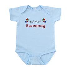 Sweeney, Christmas Infant Bodysuit