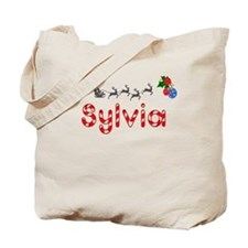 Sylvia, Christmas Tote Bag