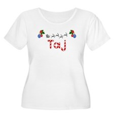 Taj, Christmas T-Shirt