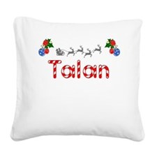 Talan, Christmas Square Canvas Pillow