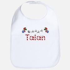 Talan, Christmas Bib