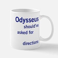 Odysseus Directions Mug