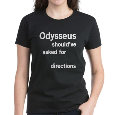 Odysseus Directions Women's Dark T-Shirt