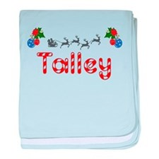 Talley, Christmas baby blanket