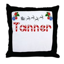 Tanner, Christmas Throw Pillow
