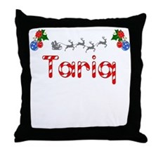 Tariq, Christmas Throw Pillow