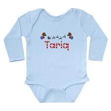 Tariq, Christmas Long Sleeve Infant Bodysuit