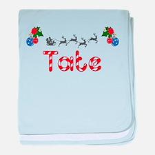 Tate, Christmas baby blanket